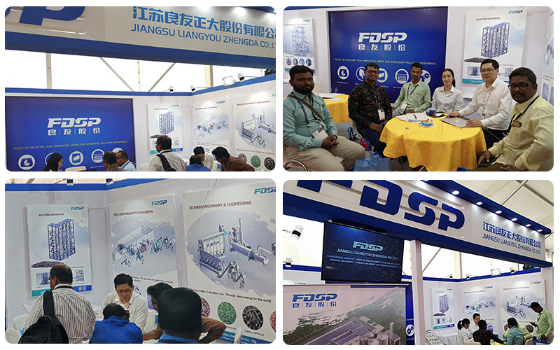 """Focus on customer's need, Build FDSP brand"" ——FDSP appeared in 2018 Poultry India Expo"
