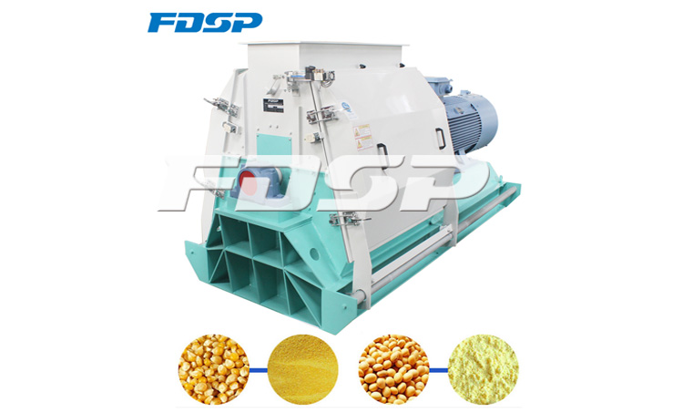 Maintenance of feed machinery without oil outlet