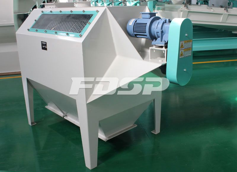Raw material sifter