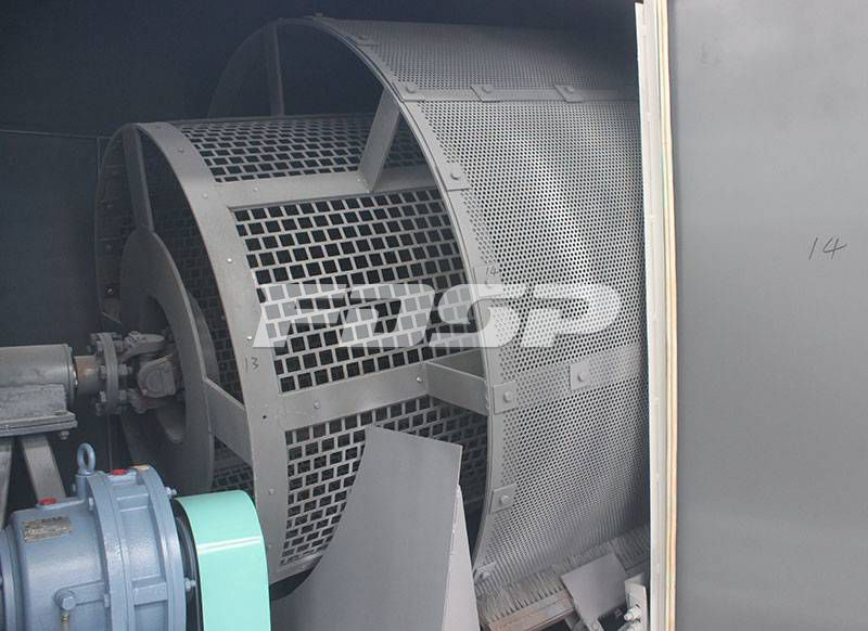 Raw material cleaning machine