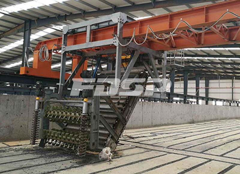 Chain Type Turning Machine