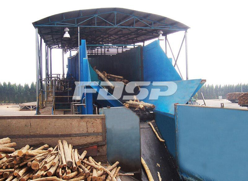 biomass machine debarking machine