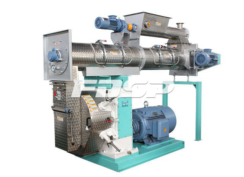 SZLH400 High Grade Ring Die Pellet Mill Feed Making Machine
