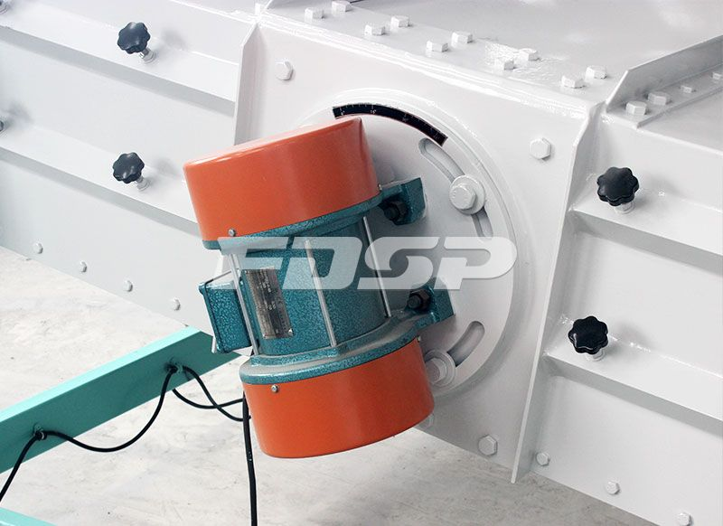 Feed machinery screening equipment