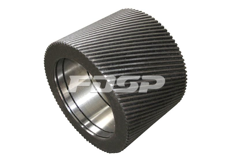 Deflective-Grooved Roller Shell