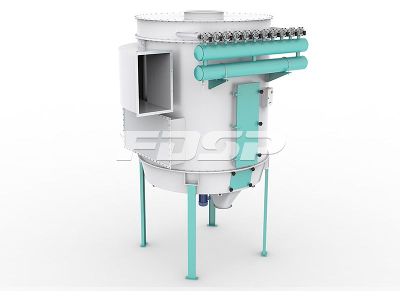 inlet dust collector