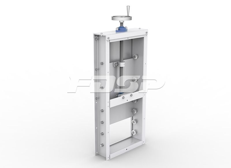 TZMS Series Manual Slide Gate
