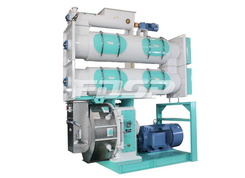 FDSP SZLH768b2 High Grade Jacket Pellet Mill