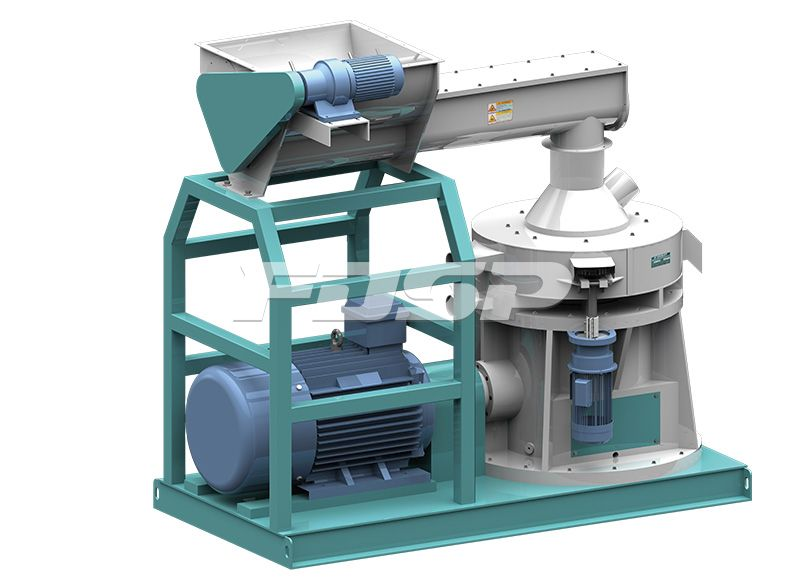 LZLH Series Vertical Ring Die Pellet Mill