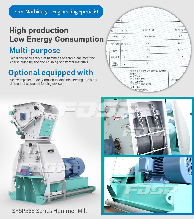 SFSP568 Series Tear Circle Hammer Mill