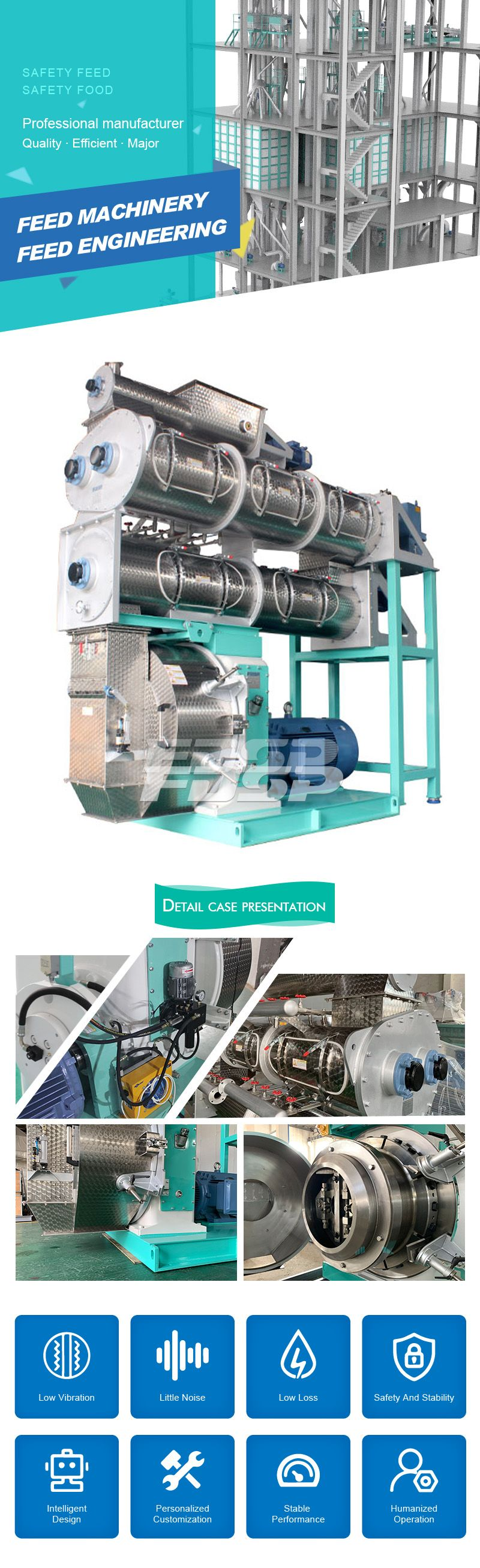 Feed Machine SZLH768DDC a1 High Grade Pellet Mill China Manufacturer